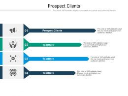 Prospect Clients Ppt Powerpoint Presentation Pictures Background Image Cpb