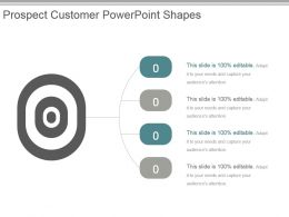 Prospect Customer Powerpoint Shapes