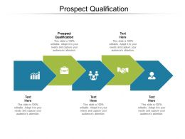 Prospect Qualification Ppt Powerpoint Presentation Styles Background Cpb