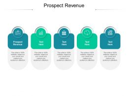 Prospect Revenue Ppt Powerpoint Presentation Slides Design Templates Cpb