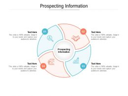 Prospecting Information Ppt Powerpoint Presentation File Design Templates Cpb