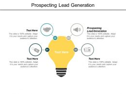 Prospecting Lead Generation Ppt Powerpoint Presentation Pictures Layouts Cpb