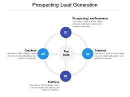 Prospecting Lead Generation Ppt Powerpoint Presentation Slides Example Cpb