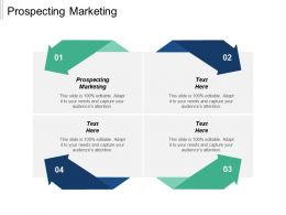 Prospecting Marketing Ppt Powerpoint Presentation Ideas Slide Portrait Cpb