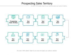 Prospecting Sales Territory Ppt Powerpoint Presentation Pictures Brochure Cpb