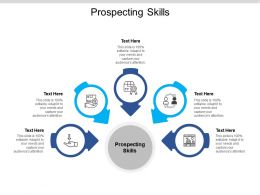 Prospecting Skills Ppt Powerpoint Presentation Professional Graphics Template Cpb