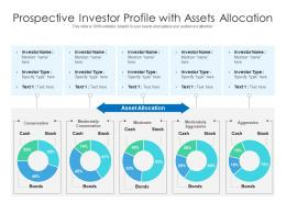 Prospective Investor Profile With Assets Allocation