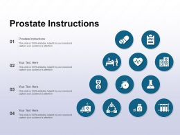 Prostate Instructions Ppt Powerpoint Presentation Show Templates