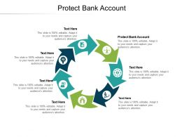 Protect Bank Account Ppt Powerpoint Presentation Summary Layouts Cpb