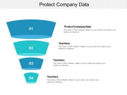 Protect Company Data Ppt Powerpoint Presentation Gallery Background Images Cpb
