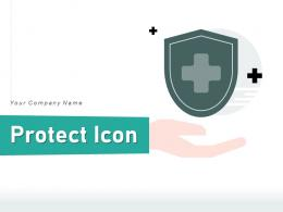 Protect Icon Confidential Document Information Secure Insurance