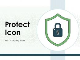 Protect Icon Financial Investment Business Insurance Environment Security