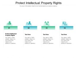 Protect Intellectual Property Rights Ppt Powerpoint Presentation Ideas Mockup Cpb