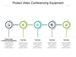 Protect Video Conferencing Equipment Ppt Powerpoint Presentation Ideas Grid Cpb