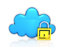Protect Your Cloud Stock Photo