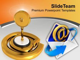Protected Email Sign Internet Powerpoint Templates Ppt Themes And Graphics 0313