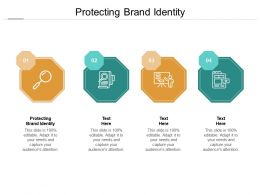 Protecting Brand Identity Ppt Powerpoint Presentation Layouts Guidelines Cpb
