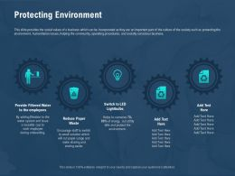 Protecting Environment Conserve M2590 Ppt Powerpoint Presentation Gallery Layout Ideas