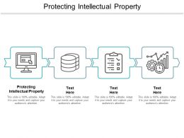 Protecting Intellectual Property Ppt Powerpoint Presentation Infographic Template Vector Cpb