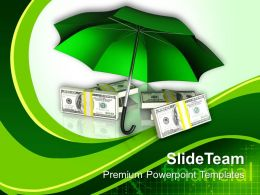Protecting Money Finance Powerpoint Templates Ppt Themes And Graphics 0313