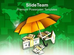 Protecting Money Global Business Issues Powerpoint Templates Ppt Themes And Graphics 0213