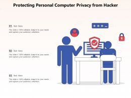 Protecting Personal Computer Privacy From Hacker