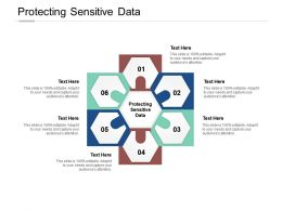 Protecting Sensitive Data Ppt Powerpoint Presentation Icon Demonstration Cpb