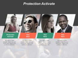 Protection Activate Ppt Powerpoint Presentation File Graphics Download Cpb
