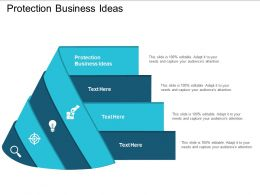 Protection Business Ideas Ppt Powerpoint Presentation Pictures Graphics Design Cpb