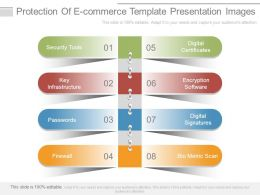 Protection Of E Commerce Template Presentation Images