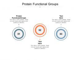 Protein Functional Groups Ppt Powerpoint Presentation Portfolio Demonstration Cpb