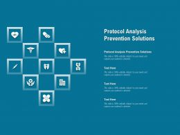 Protocol Analysis Prevention Solutions Ppt Powerpoint Presentation Infographic Template