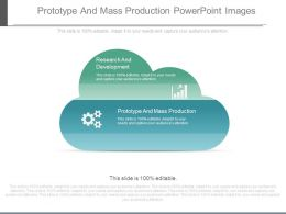 Prototype And Mass Production Powerpoint Images