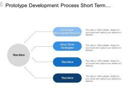 Prototype Development Proces Short Term Strategies Direct Sales Model Cpb