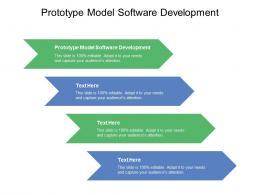 Prototype Model Software Development Ppt Powerpoint Vector Cpb