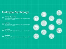 Prototype Psychology Ppt Powerpoint Presentation Styles Clipart Images