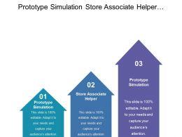 Prototype Simulation Store Associate Helper Response Monitoring Customer Profiling