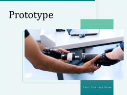Prototype Software Electronic Functionality Manufacturing Process Representing Product