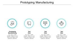 Prototyping Manufacturing Ppt Powerpoint Presentation Professional Slide Download Cpb