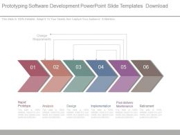 Prototyping Software Development Powerpoint Slide Templates Download