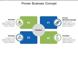 Proven Business Concept Ppt Powerpoint Presentation Professional Visuals Cpb