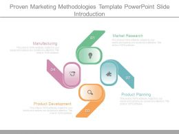 Proven Marketing Methodologies Template Powerpoint Slide Introduction