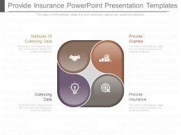 Provide Insurance Powerpoint Presentation Templates