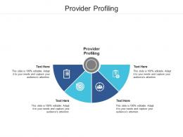 Provider Profiling Ppt Powerpoint Presentation Outline Ideas Cpb