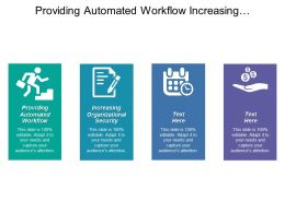 Providing Automated Workflow Increasing Organizational Security Automating Auditing