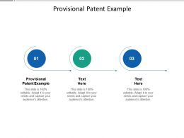 Provisional Patent Example Ppt Powerpoint Presentation Inspiration Cpb