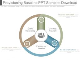 Provisioning Baseline Ppt Samples Download
