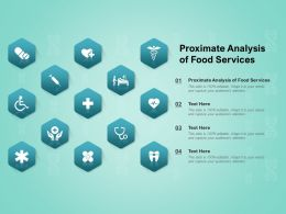Proximate Analysis Of Food Services Ppt Powerpoint Presentation Slides Graphics Tutorials