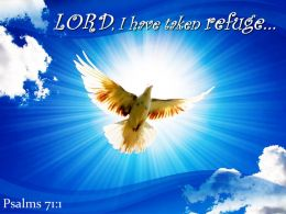 Psalms 71 1 LORD I Have Taken Refuge Powerpoint Church Sermon