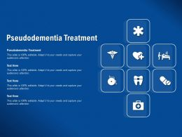 Pseudodementia Treatment Ppt Powerpoint Presentation File Background